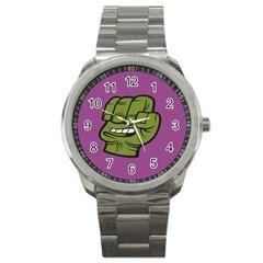 Hulk Smash Sport Metal Watch