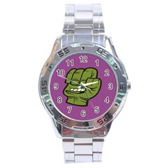 Hulk Smash Stainless Steel Watch