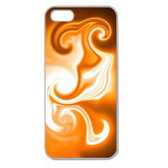 L463 Apple Seamless iPhone 5 Case (Clear)