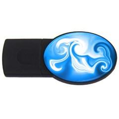 L464 1GB USB Flash Drive (Oval)