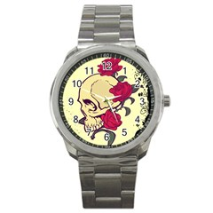 skeleton Sport Metal Watch