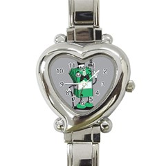 Don t waste your time... Heart Italian Charm Watch