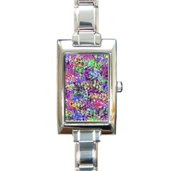 Fantasy Rectangular Italian Charm Watch