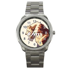 Bear Time Sport Metal Watch