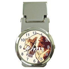 Bear Time Money Clip with Watch