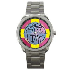 Party Time Sport Metal Watch