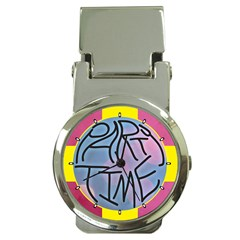Party Time Money Clip with Watch