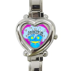 Oh my look at the time! Heart Italian Charm Watch