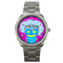 Oh my look at the time! Sport Metal Watch