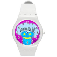 Oh My Look At The Time! Plastic Sport Watch (medium)