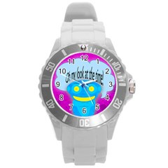 Oh My Look At The Time! Plastic Sport Watch (large)