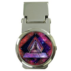 Galaxy Time Money Clip with Watch