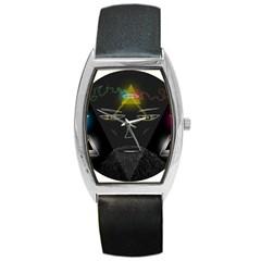 Wizard Tonneau Leather Watch