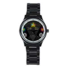 Wizard Sport Metal Watch (Black)