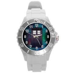 The Time Traveler Plastic Sport Watch (large)