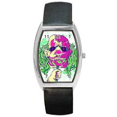 Bozo Zombie Tonneau Leather Watch