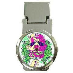 Bozo Zombie Money Clip with Watch