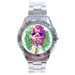 Bozo Zombie Stainless Steel Watch