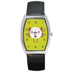Moshi Watch Tonneau Leather Watch