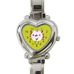 Moshi Watch Heart Italian Charm Watch