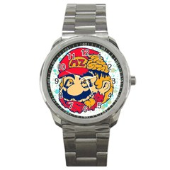 Mario Zombie Sport Metal Watch