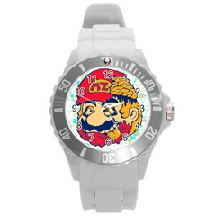mario zombie Plastic Sport Watch (Large)