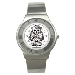 Delicious Stainless Steel Watch (slim)