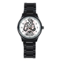 delicious Sport Metal Watch (Black)