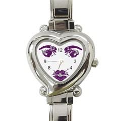 Beauty Time Heart Italian Charm Watch