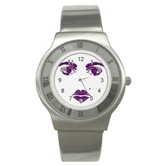 Beauty Time Stainless Steel Watch (slim)