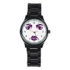 Beauty Time Sport Metal Watch (Black)