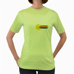 The Pacside Womens  T-shirt (Green)