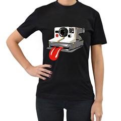 Polarock Womens' Two Sided T Shirt (black)