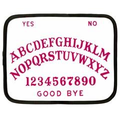 Talking Board Netbook Sleeve (XL)