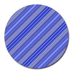 Lines 8  Mouse Pad (Round)