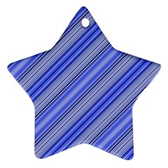Lines Star Ornament