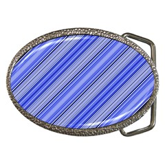 Lines Belt Buckle (Oval)