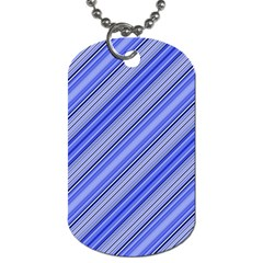 Lines Dog Tag (two Sided)