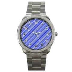 Lines Sport Metal Watch