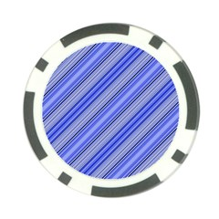 Lines Poker Chip (10 Pack)