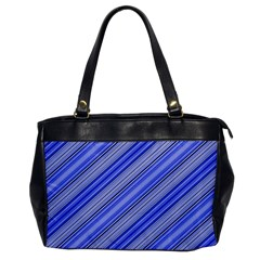 Lines Oversize Office Handbag (one Side)