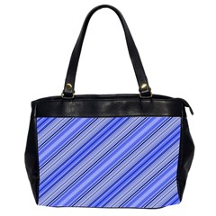 Lines Oversize Office Handbag (Two Sides)