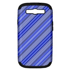 Lines Samsung Galaxy S III Hardshell Case (PC+Silicone)