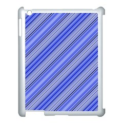 Lines Apple iPad 3/4 Case (White)