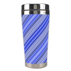 Lines Stainless Steel Travel Tumbler