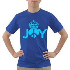 JOY PEACE Mens' T-shirt (Colored)
