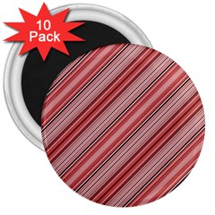 Lines 3  Button Magnet (10 Pack)