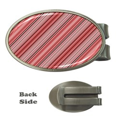 Lines Money Clip (Oval)