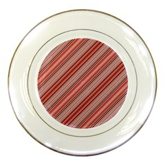 Lines Porcelain Display Plate