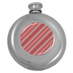 Lines Hip Flask (round)